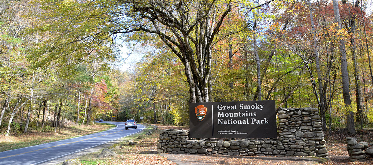 Main Entrance to Great Smoky Mountain National Park
